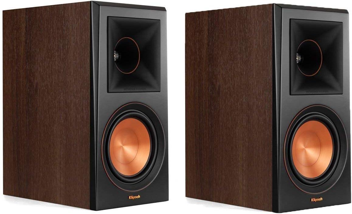 Klipsch RP-600M Reference Premiere Bookshelf Speakers - Pair (Walnut)