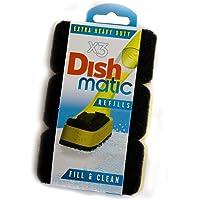 Dishmatic Esponjas de Repuesto 2X3 Extra Resistentes, Color