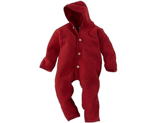 5070432b6 Amazon.com  Merino Wool Organic Fleece Baby Newborn Romper Hooded ...