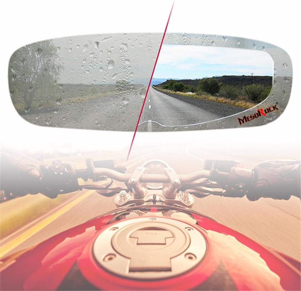 evergremmi Gafas de Motocicleta para Cascos, Casco de Motocicleta Universal Lente antivaho película Gafas Pegatina de Casco para Hombre Mujer Juventud Gafas