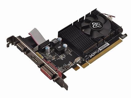 XFX R7-240D-CLF2 GRA PCX Core R7 240 NVIDIA - Tarjeta gráfica, PCI-e, 2 GB, Memoria GDDR3, HDMI, DVI, VGA, 1 GPU