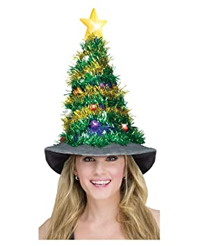 6568169af4253 Image Unavailable. Image not available for. Colour  Light Up Christmas Tree  Hat