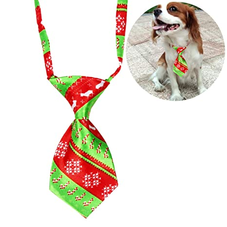 Legendog Navidad Mascota Corbata Ajustable Dibujos Animados ...