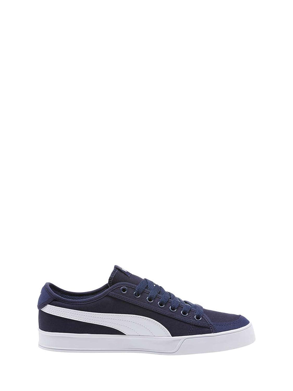 Puma Smash v2 Vulc CV Zapatos para Hombre Azul 36596804 39 EU|Azul