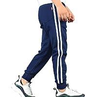 LittleXin OneBoy Pantalones deportivos casuales con cintura elástica para niños de 5 a 13 años