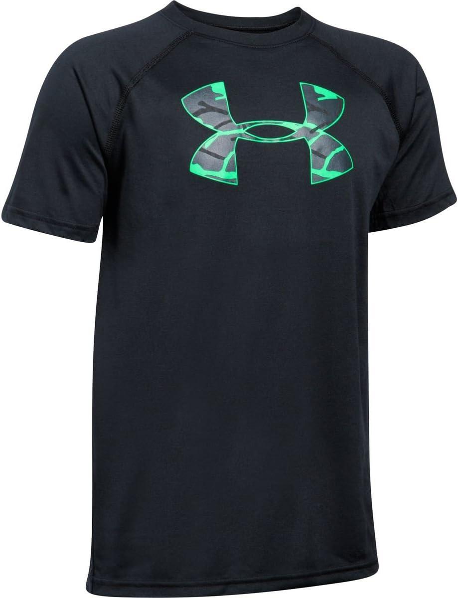 Under Armour Tech Big Logo T-Shirt manches courtes gar/çon