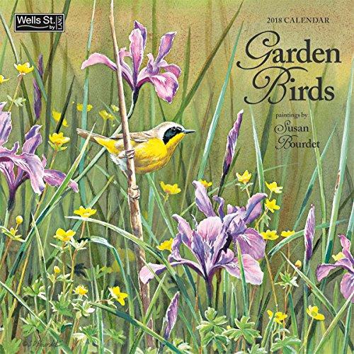 The LANG Companies WSBL Garden Birds 2018 12X12 Wall Calendar Office Wall Calendar (18997001681)