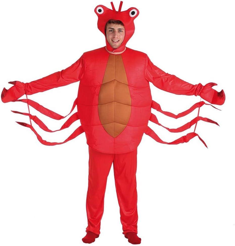 Disfraz de Cangrejo para Hombre talla Universal M-L: Amazon.es ...