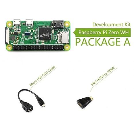 Amazon Com Wendi Raspberry Pi Zero Wh Package A Basic Development
