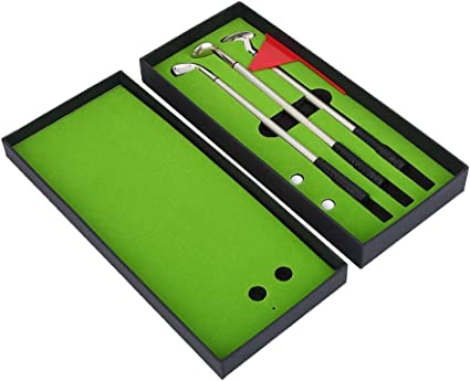 Delaman Bolígrafos de Los Clubs Golf Mini Golf Pen Set De Los ...