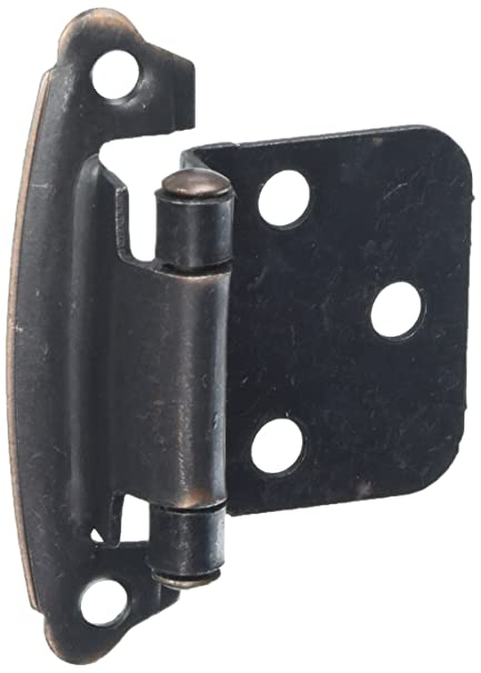 Hickory Hardware VP244 OBH Project Pack Surface Self Closing Flush Hinge,  Oil