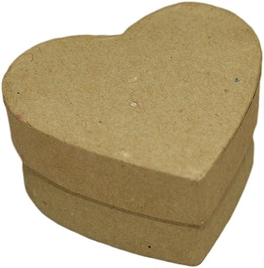 Corazón caja - regalo-cartón de corazón decorar manualidades ...