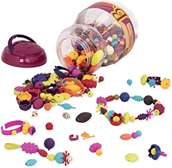 B. Toys 500 Pieces Of Fun And Colorful Jewelry Set