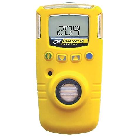 Honeywell Analytics BW GasAlert Extreme - Detector de oxígeno (0-30,0%