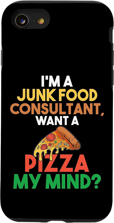 iPhone SE (2020) / 7 / 8 Pizza Pun I'm A Junk Food Consultant Case