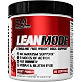 Evlution Nutrition Lean Mode Stimulant-Free Weight Loss Supplement with Garcinia Cambogia, CLA and Green Tea Leaf…