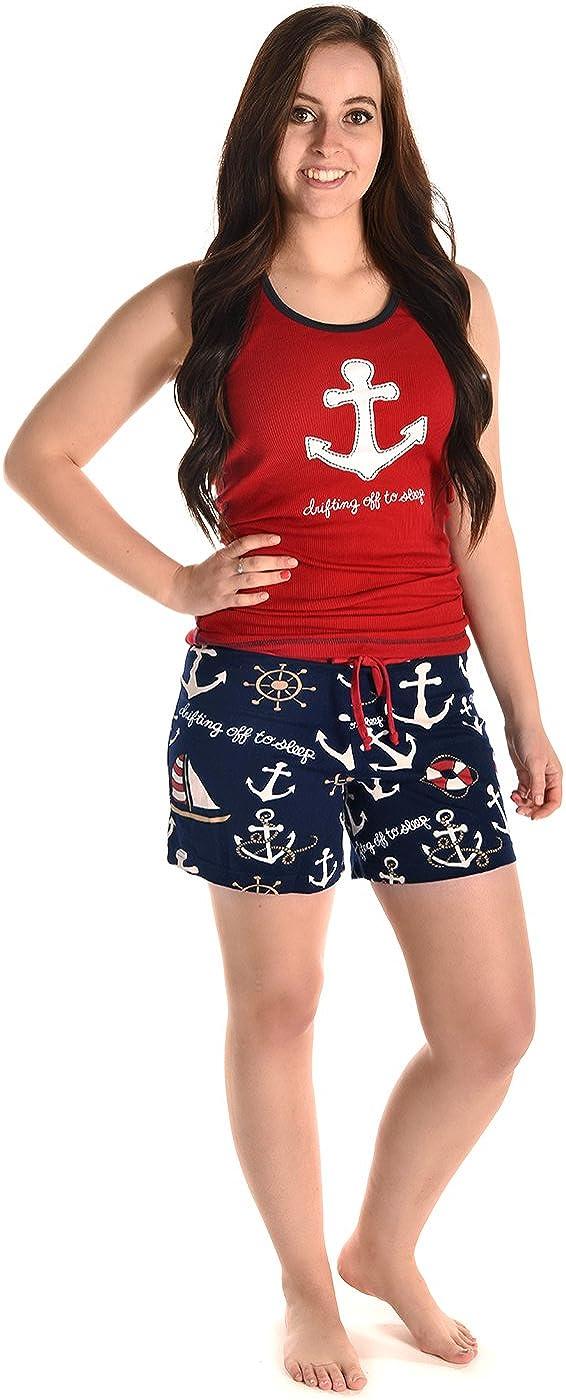 LazyOne Damen Tailliert Drifting off to Sleep Pyjama Boxers