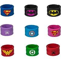 Superhero Slap Bracelet, Chelvee Slap Bracelet for Kids Boys & Girls Birthday Party Supplies Favors Wristband…