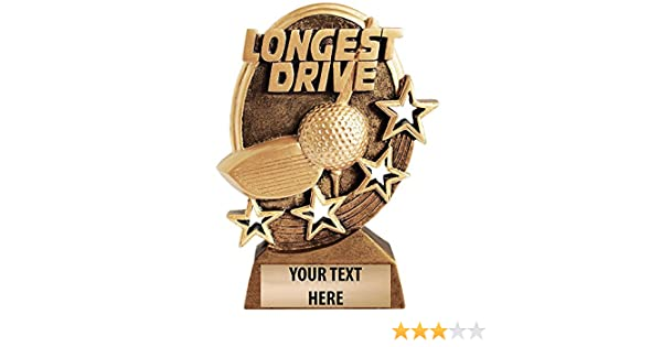 Crown Awards Longest Drive Golf Trophy