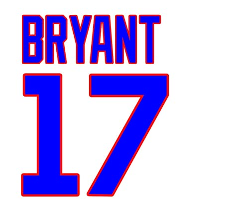 new product 8e5a8 fe409 Kris Bryant Chicago Cubs Jersey Number Kit, Authentic Home ...