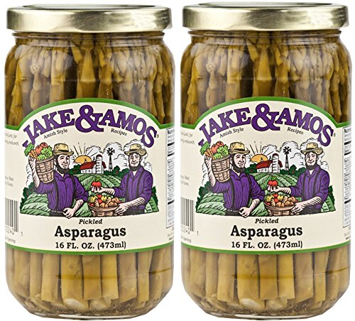 Jake & Amos - Pickled Asparagus / 2 - 16 Oz. Jars (Asparagus Pickled)