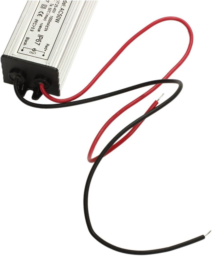 Transformator Treiber Driver LED Lampe Trafos 50W Wasserdicht DC30-36V 1500MA R SODIAL