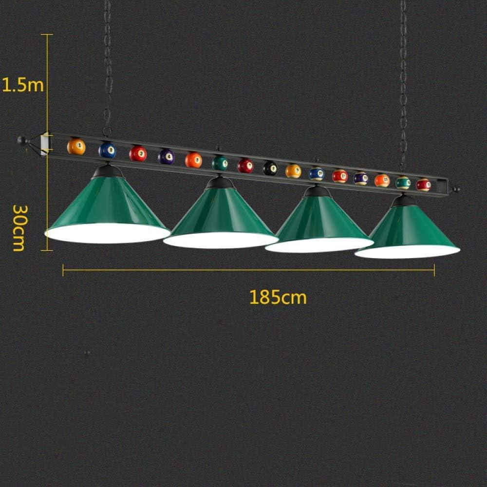 YZjk Lámpara sin Sombra LED de Billar, lámpara de Billar, lámpara ...