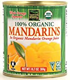 Native Forest Organic Mandarin Oranges, 10.7 Ounce Cans (Pack of 6)
