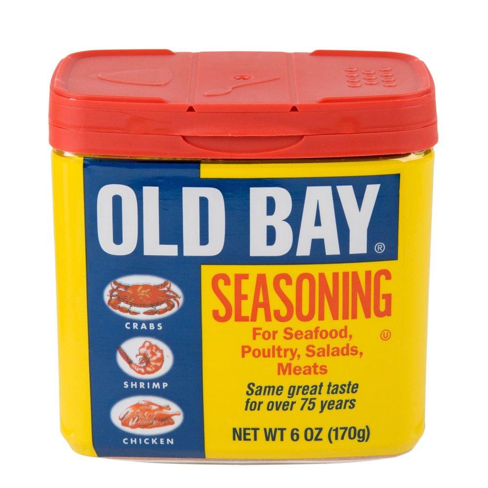 Old Bay Seasoning Variety Pack -- Regular, Garlic & Herb, Lemon & Herb, and Blackened by Old Bay
