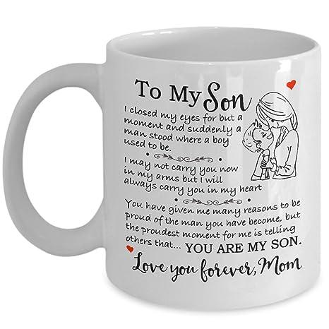 Amazon Com Gift For Son Christmas Mother Son Gift Coffee Mug