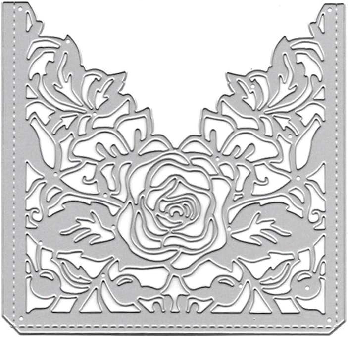 Rose Flowers DIY Metal Cutting Dies Stencils Scrapbooking Album Handcraft Decor