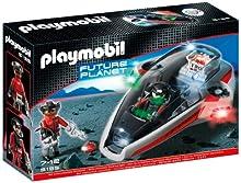 PLAYMOBIL - Space Darksters Planeador, Juguete Educativo, 30 x 7,5 x 20 cm, (626712)