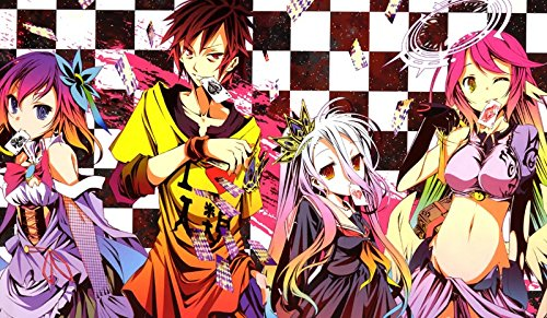 220 No Game No Life PLAYMAT CUSTOM PLAY MAT ANIME PLAYMAT INCLUDES EXCLUSIVE GUARDIAN PLAYMAT TUBE (Pokemon Cards 220)