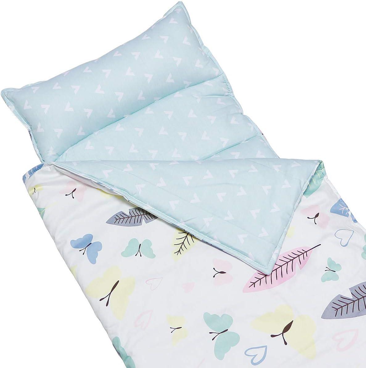 Butterfly2 Hisprout Tapis L/éger et Doux Kids Toddler Minky Dot /& Cotton