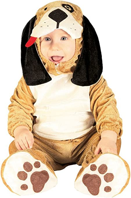 FIESTAS GUIRCA Disfraz Bebé Luxe - Perrito Baby 1-12 Meses: Amazon ...