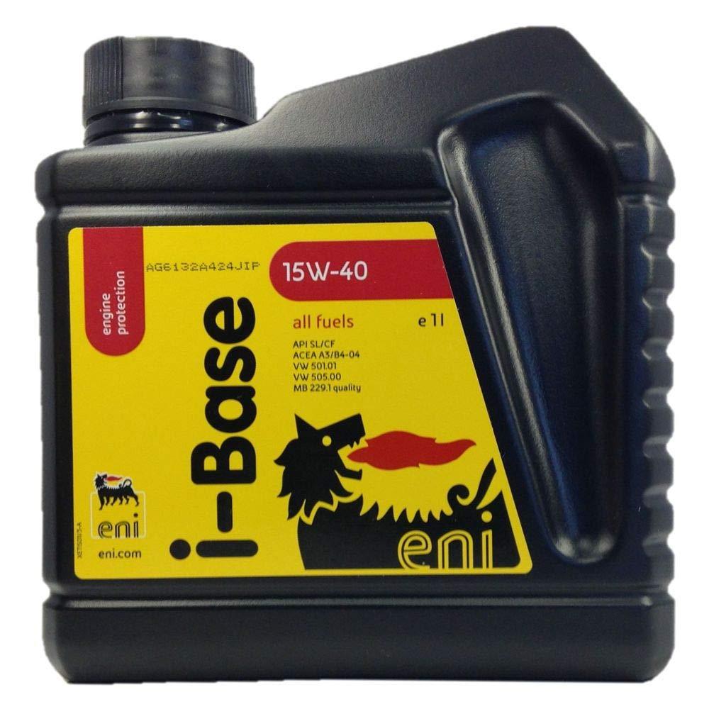 ENI I de Aceite de Base 15 W 40 1L: Amazon.es: Coche y moto