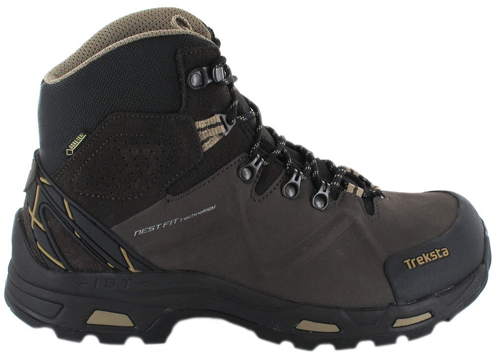 a0660713358 Treksta Men's Guide X5 Gtx Hiking Boots brown brown brown Size: 12 ...