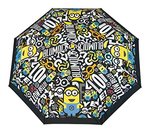 p:os 25437 - Kinderregenschirm Minions, 100 x 70 cm