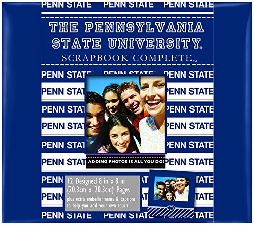 C.R. Gibson Scrapbook Complete Kit, Small, PSU Penn State Nittany Lions (C878334M)