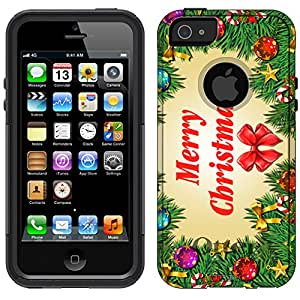 Otterbox Commuter Apple iPhone 5 Case - Animal Skin Motley On White Hybrid Case for iPhone 5 & 5s