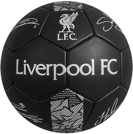 SUTUS Liverpool F.C. - Balón de fútbol (Talla 5), Color Negro ...