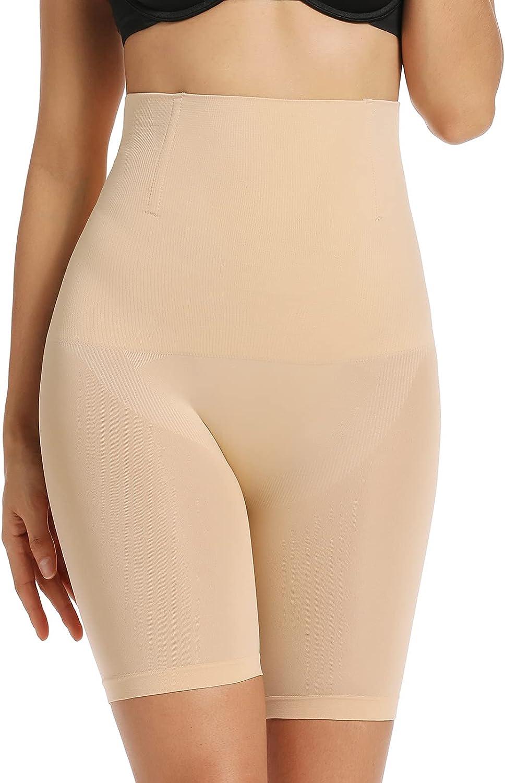 Joyshaper Women Slip Shorts for Under Dresses High Waist Shapewear Panties Thigh Slimmer Butt Lifter