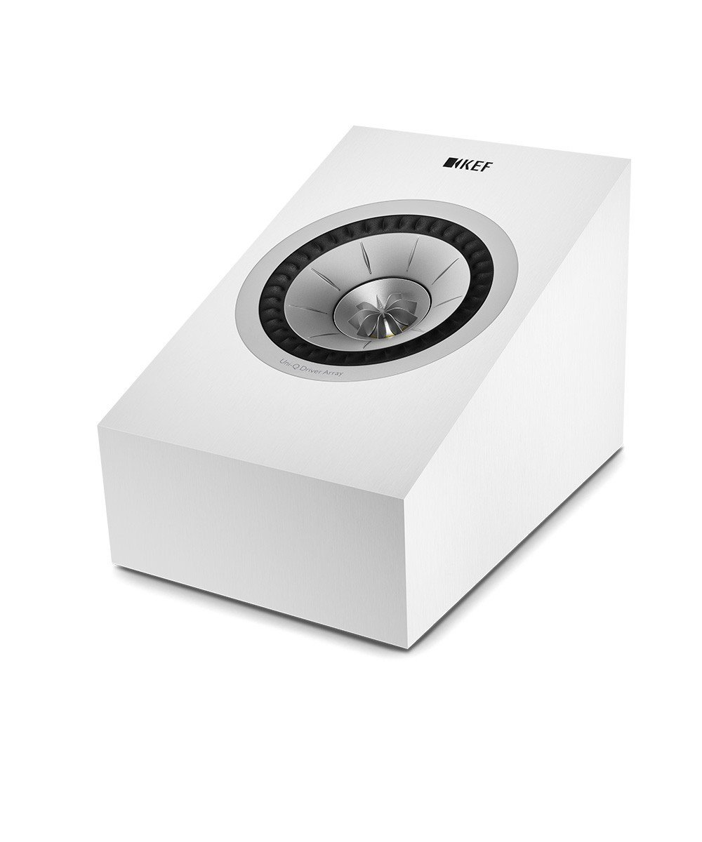 Q50a Dolby Atmos Speaker (White, Pair) by KEF