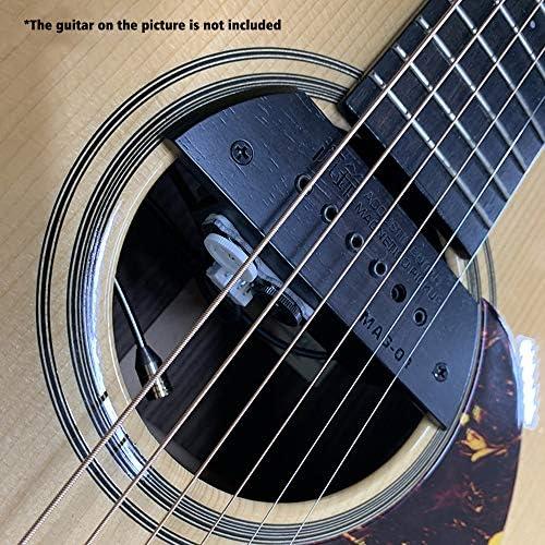 Kalaok Guitarra acústica Micrófono + Sonido Agujero Sistema de ...