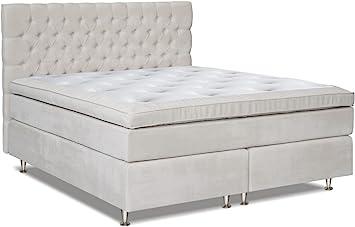 Cama con somier cama Mindoro, Box: Núcleo de muelles Bonell ...