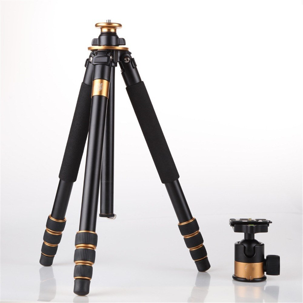 Portable Aluminum Alloy SLR camera Tripod,Spirit level,telephoto bracket,Travel Photography/Camera Tripod, 360 Degree Panoramic Tripod