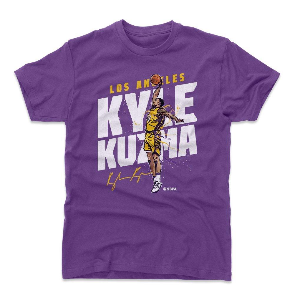 500レベルKyle Kuzmaシャツ – Los Angeles Lバスケットボールメンズアパレル – Kyle Kuzma Slam XX-Large パープル B07CHB5XQ5