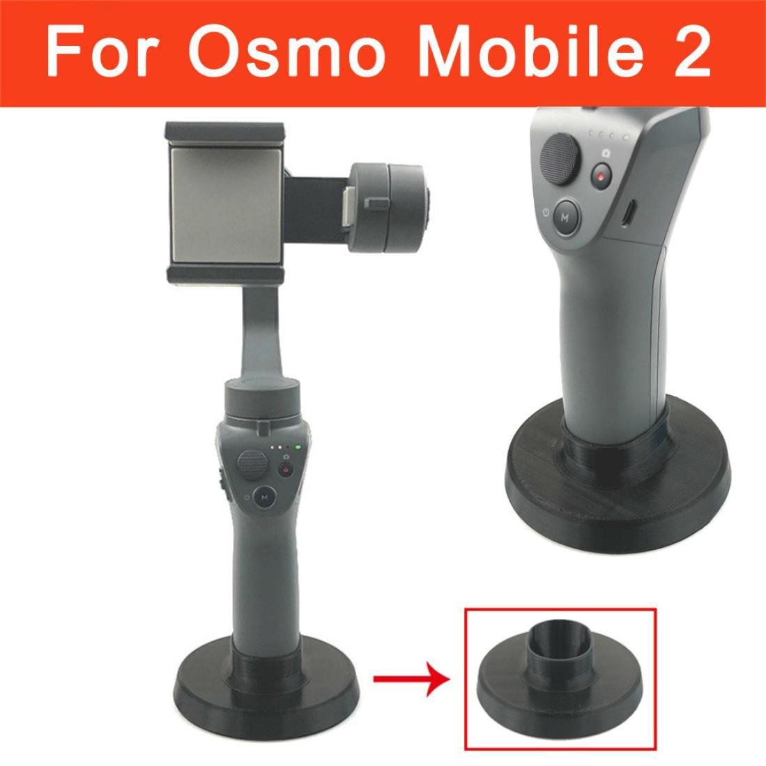 Diadia DJI Pour DJI Osmo Mobile–Diadia Accessoires extension support de montage de base pour DJI Osmo téléphone portable Gimbal 2-remains stable sans anti Renversement DD