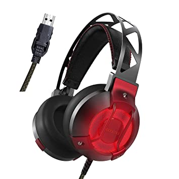 dodocool PS4 Gaming Headset, 7.1 Surround Sound PC: Amazon.de ...