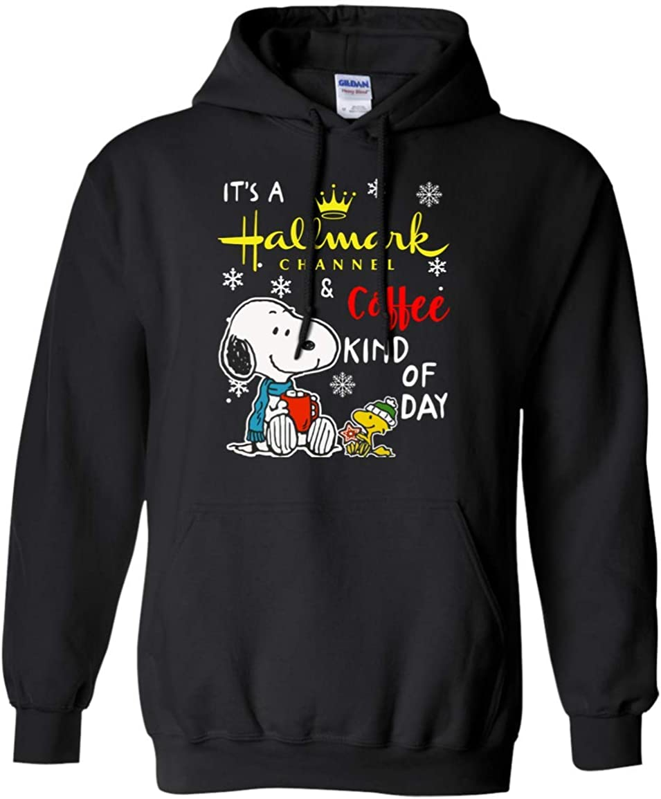 Its a Hallmark Channel and Coffee Kind of Day Snoopy Hoodie